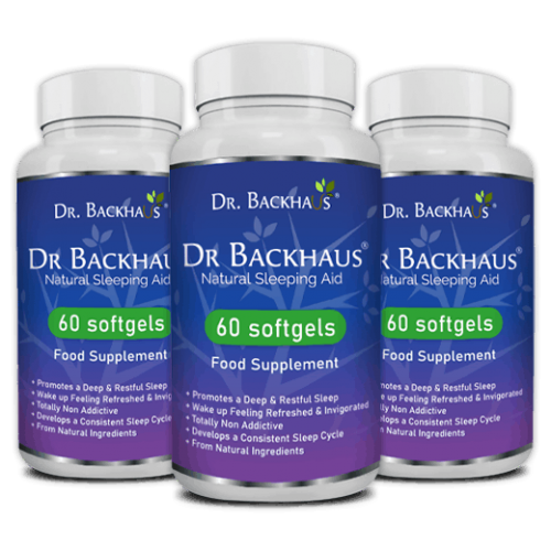 Dr Backhaus Naturlige Sovepiller 180 Soft Gel
